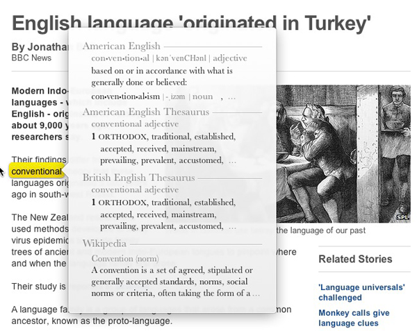 Killer Mac Secrets – Instant Dictionary And Thesaurus Access | No ...