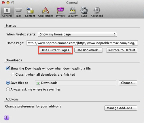 Setting Your Home Page On Safari, Firefox Or Chrome | No Problem Mac