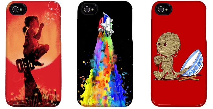 Threadless iPhone Cases