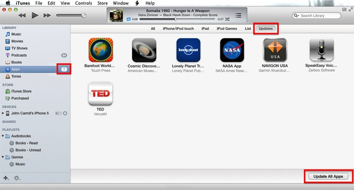 Why You Need to Know How To… Update Apps In iTunes 11 | No ...
