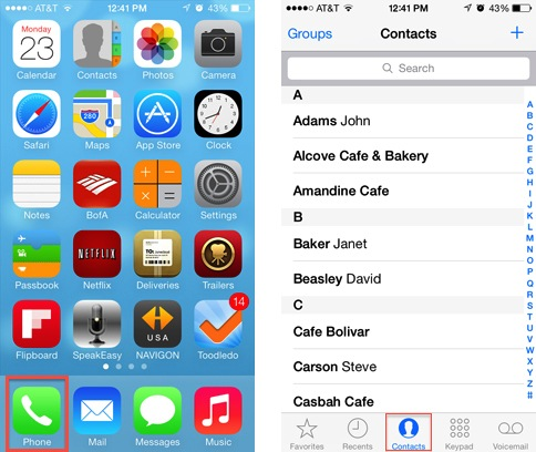 How to block calls texts and facetime in ios7