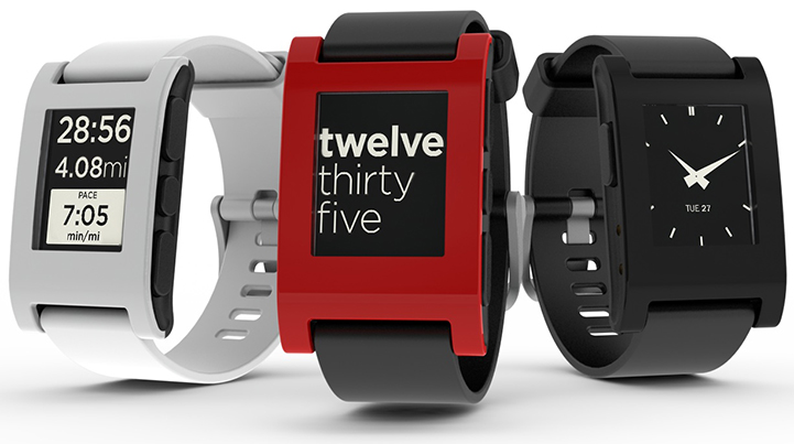 Pebble Watch Syncs To Apple's iPhone