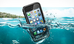 Apple iPhone In The Water
