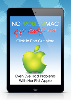 No Problem Mac Gift Certificate