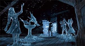 Edward Carving Ice - Thumbnail