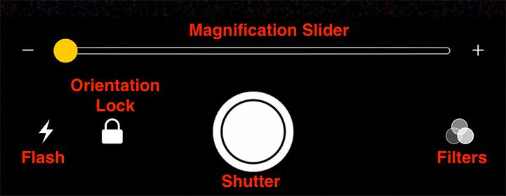 iOS 10 iPhone magnification menu