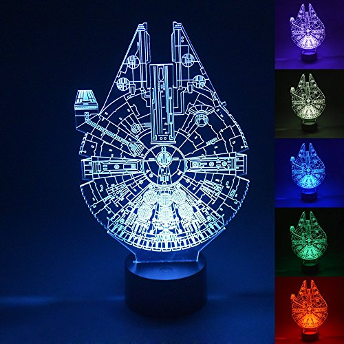 Gifts 2016 - 3D LED Light Millennium Falcon