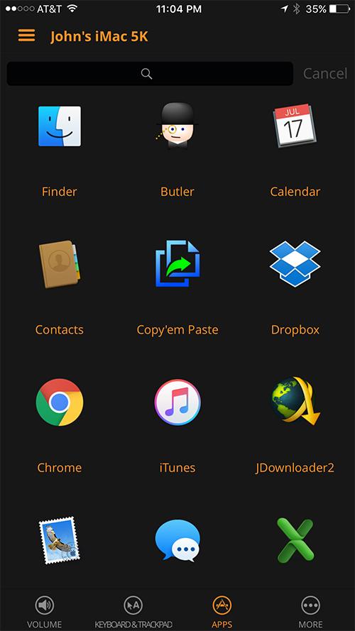 Remote Control App - Apps