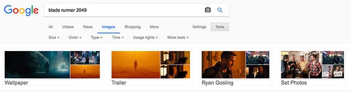 Google Images - Categories Movie
