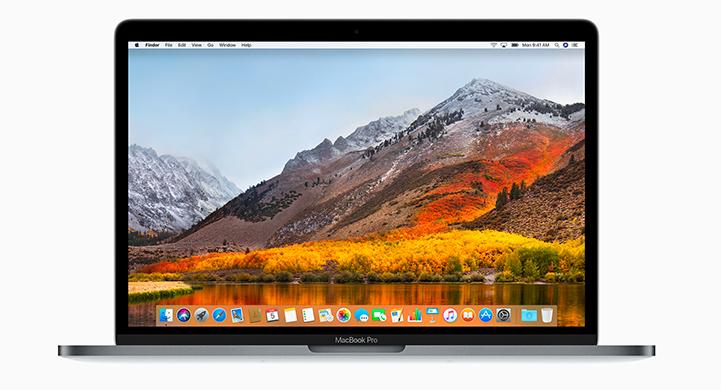 macOS High Sierra on Macbook Pro