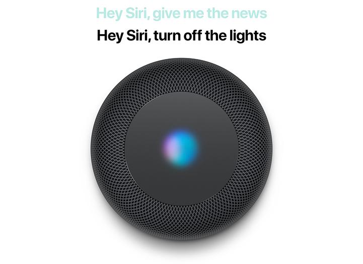 HomePod intelligent Siri control