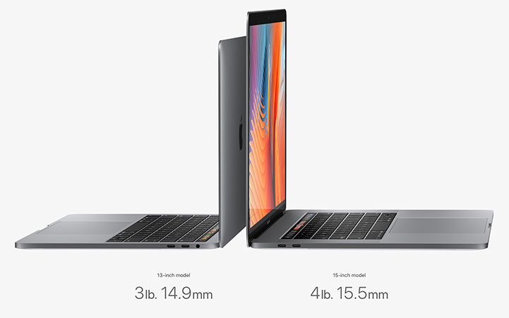 "2017 Apple Macbook Pro 13"" and 15"""
