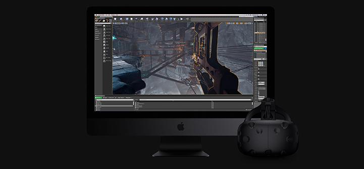 2017 Apple iMac Pro Graphics Display