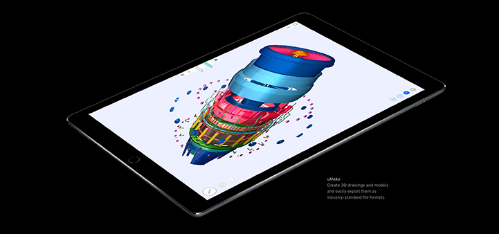 "10.5"" iPad Pro with X10 Fusion chip"