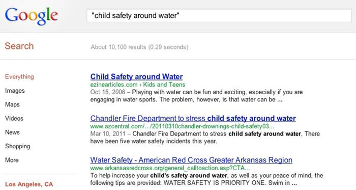 Google Exact Search