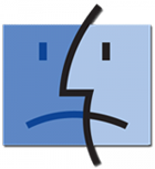 Unhappy Mac Finder Icon
