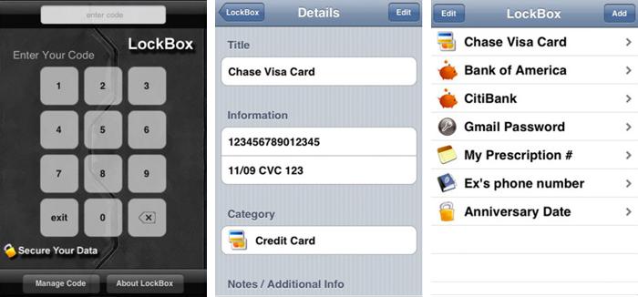 Lockbox App For Iphone
