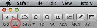 Apple Safari Bookmarks Icon
