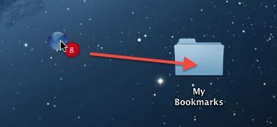 Apple Safari - Drag n Drop Bookmarks