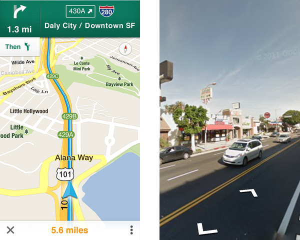 Maps Street View Iphone on