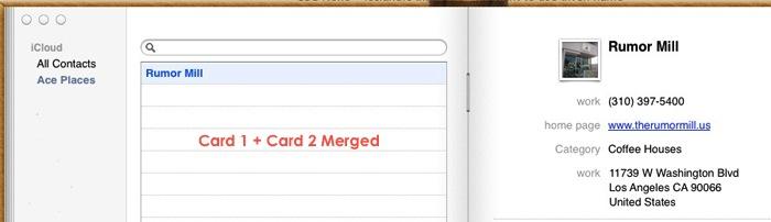 Apple Mac Address Cards Merged