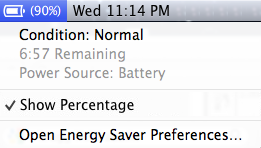 Apple Mac Battery Condition