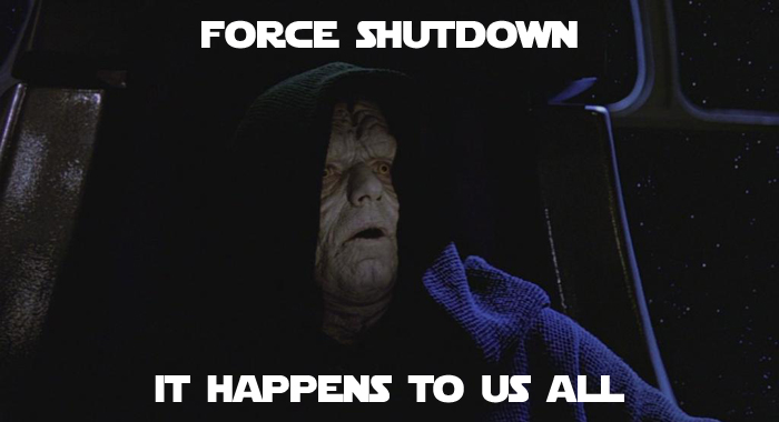 Apple Mac Force Shutdown