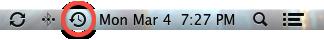 Apple Mac Time Machine Icon