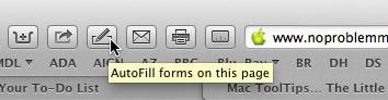 Mac Safari ToolTip