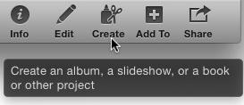 Mac iPhoto ToolTip