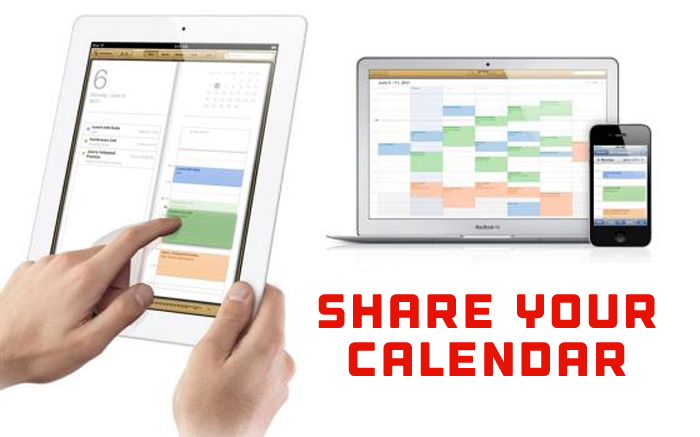 Share Your Mac OSX Calendar
