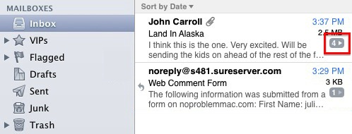 How To    Browse Email Threads In Apple Mail   No Problem Mac