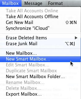 Apple Mail - New Smart Mailbox