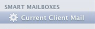 Apple Mail - New Smart Mailbox in Sidebar