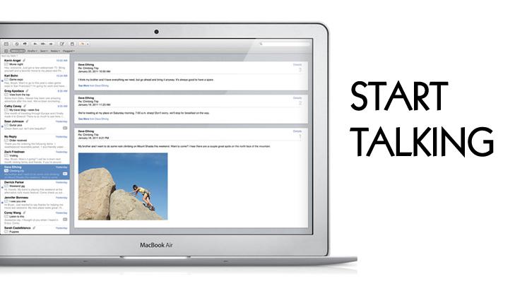 Mail app mac conversation view