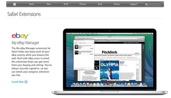 Safari Extensions - Add Something Cool To Your Browser   No