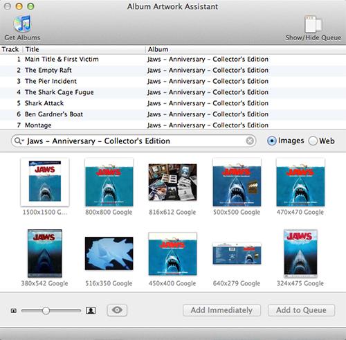 Album Artwork Assistant For iTunes