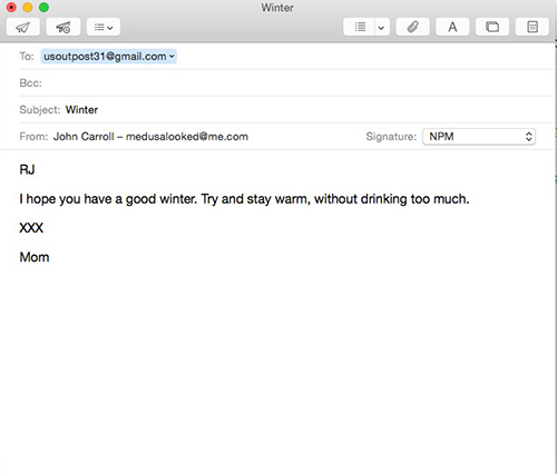 Send Later - Email on The Mac