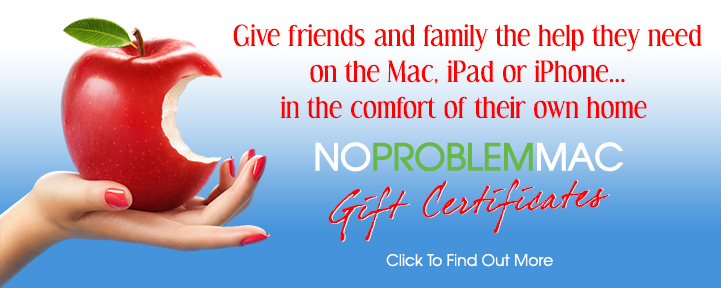 Give A No Problem Mac Gift Card or Certificate