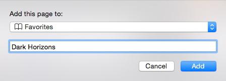 Safari - Tricks when using the Favorites Bar - 2