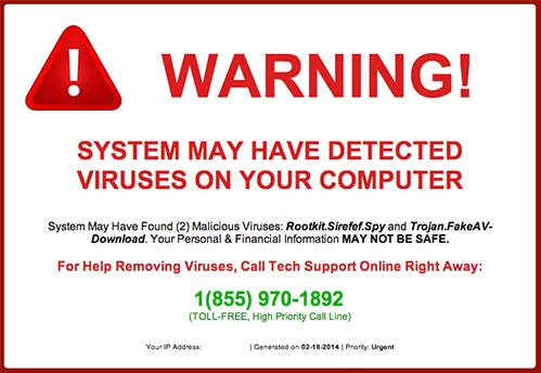 Hacked Warning