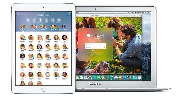 iOS 9.3 Classroom App