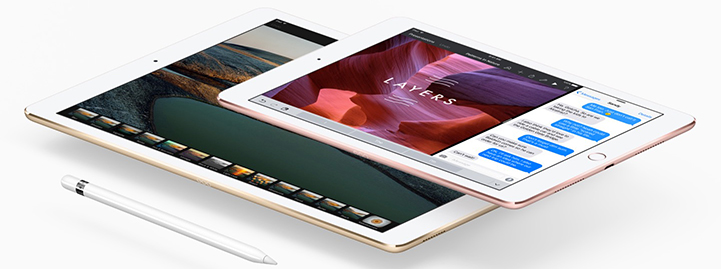 "iPad Pro 9.7"" Compared"