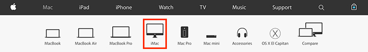 Apple Store - iMac Purchase Icon