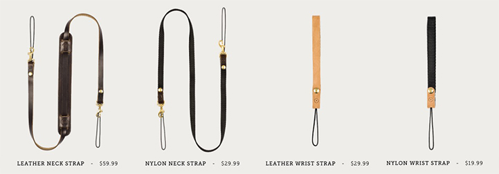 Moment System for iPhone - Neck Strap Options