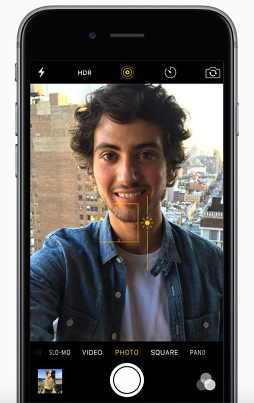 iPhone Camera Symbols - Exposure Control