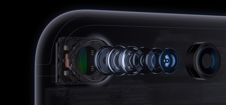 iPhone 7 - 6 element lens