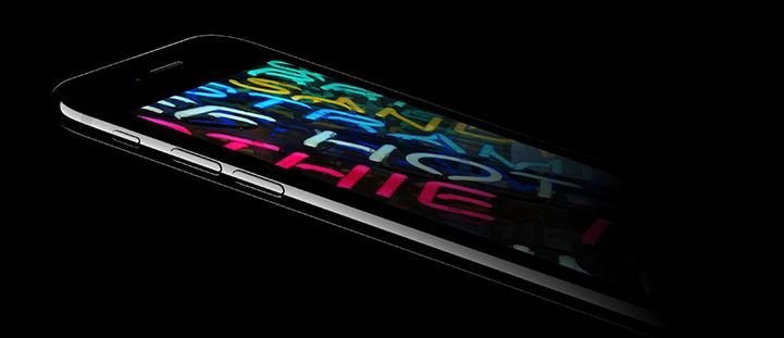 iPhone 7 - Wide Gamut Retina Display