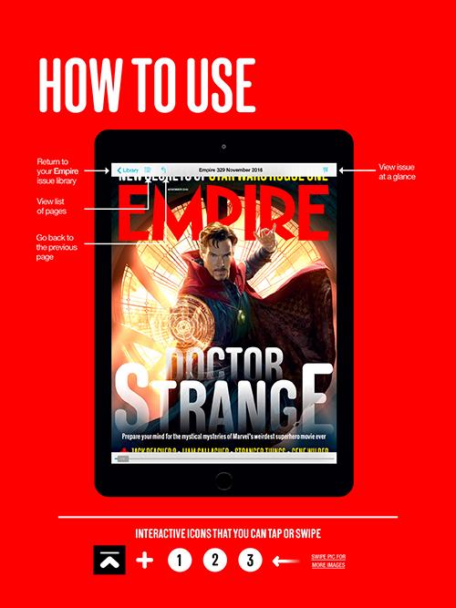 Empire Movie Magazine iPad How To Use