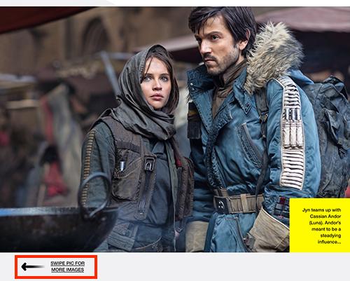 Empire Magazine iPad Movie Photo Slideshow